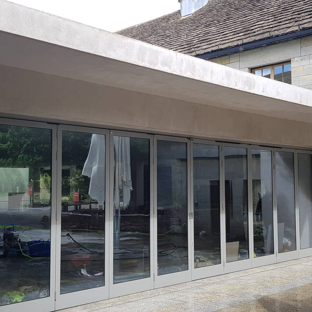 Window cleaning and external walls at Wakehurst Place