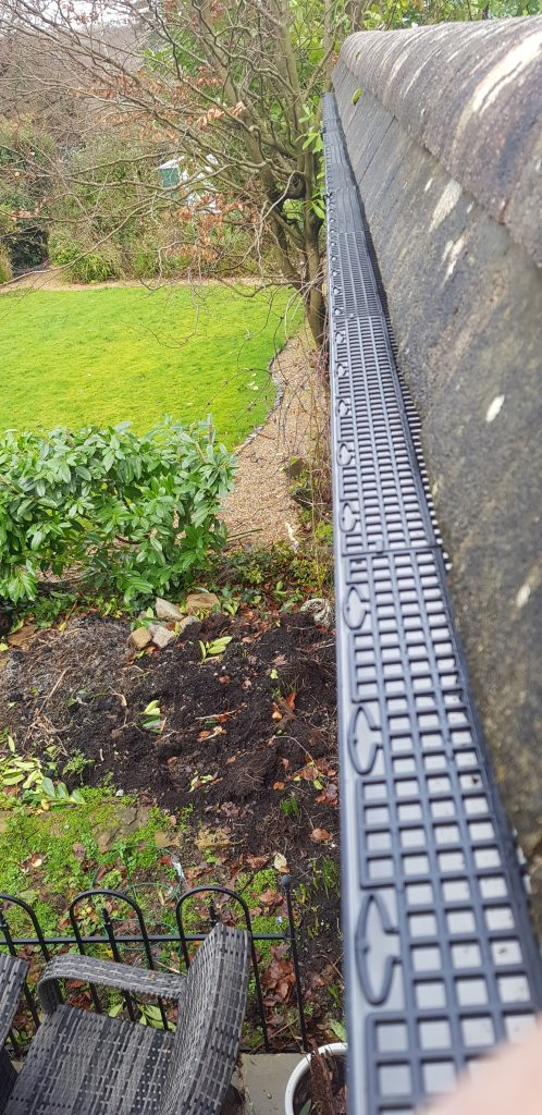 Gutter cleaning and also gutter grids installed in Cuckfield