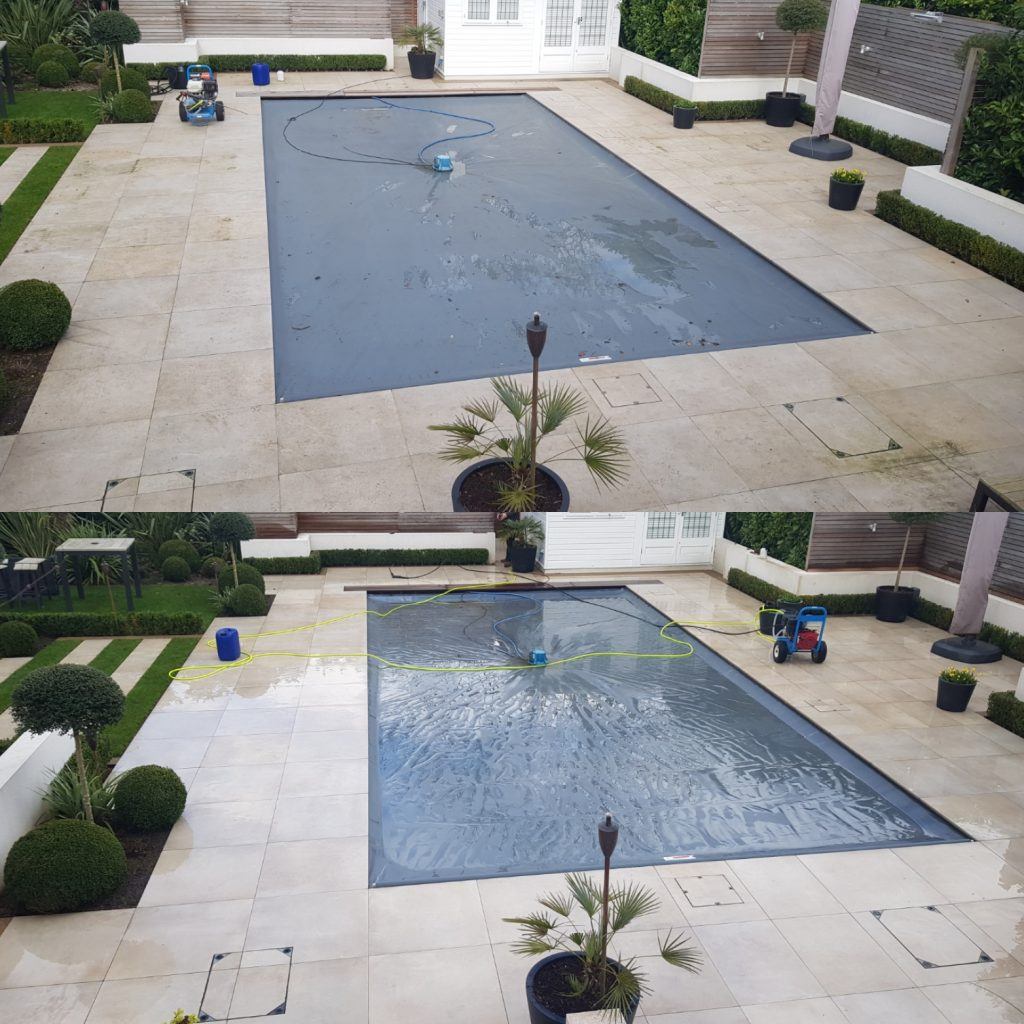 Swimming pool area cleaning in Haywards Heath