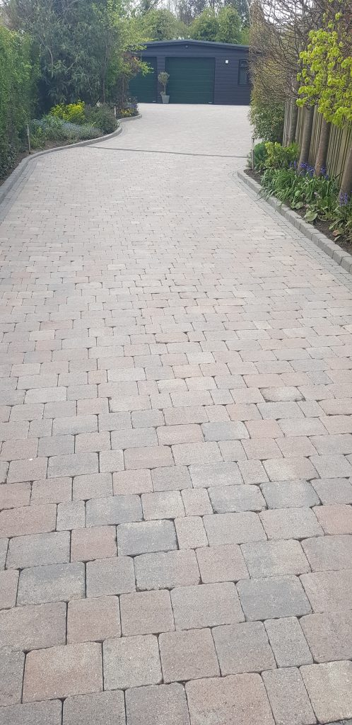Driveway cleaned and treatment applied  burgess hill